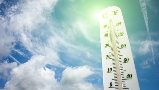 Waar wordt het deze week het heetst?