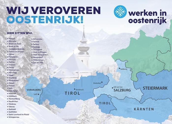 Werken in Oostenrijk Bundeslander
