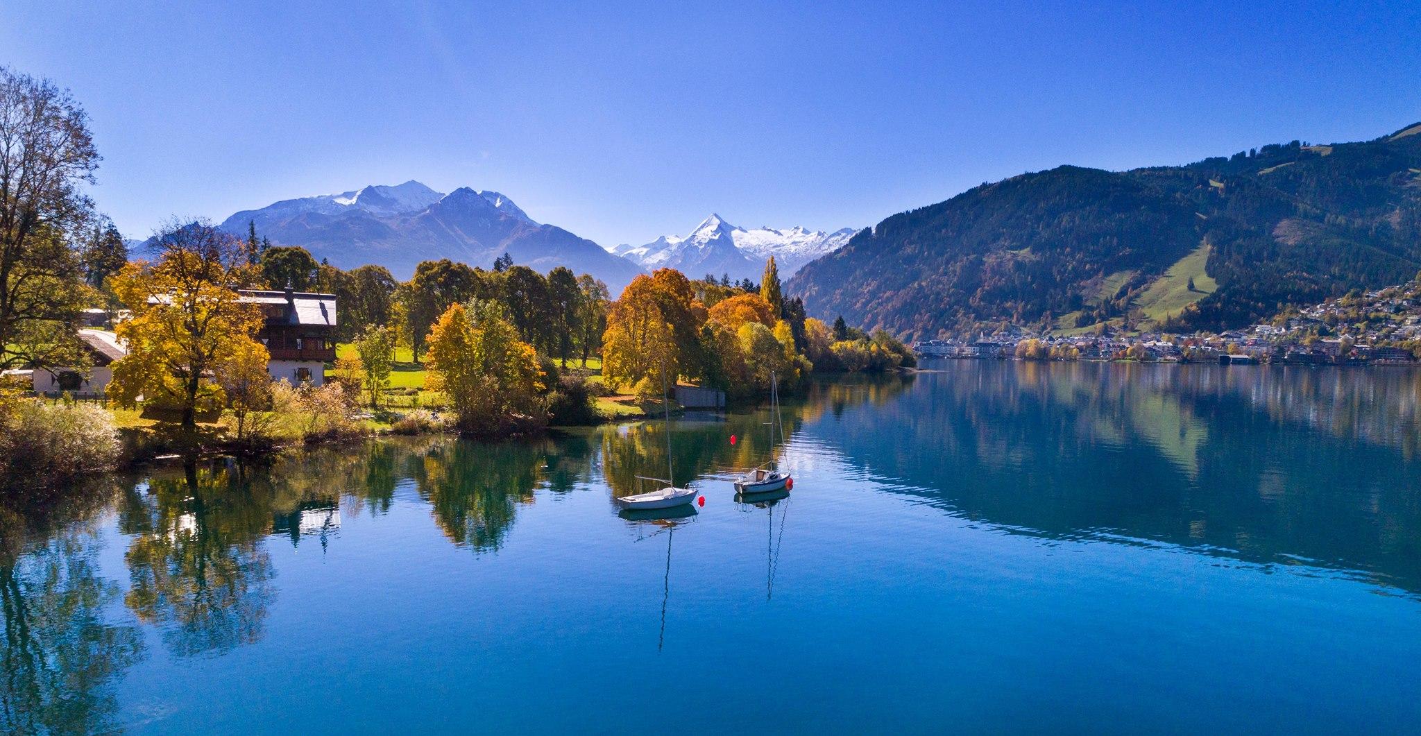 Zell am See Herfst