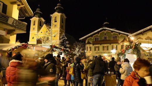Kerstmarkt Adventmarkt St Johann in Tirol