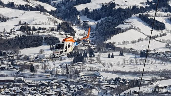 Kitzbühel Hahnenkamm Hahnenkammrennen Helikopter