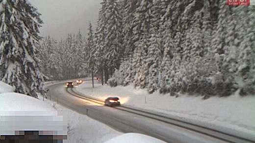 Weg sneeuwvrij Kitzbühel