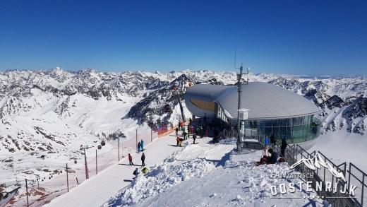 Pitztaler Gletsjer Das Café
