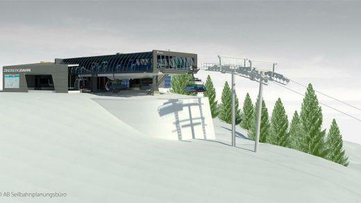 SkiWelt Brixen im Thale Bubble Express met Pensioen