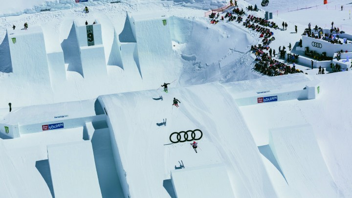 The Audi Nines Sölden