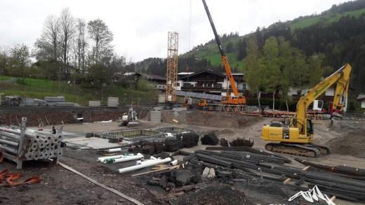 Fleckalmbahn werkzaamheden
