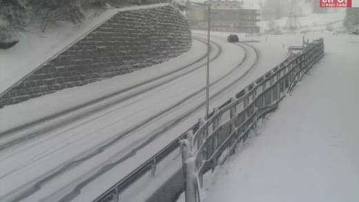 Sneeuw Pass Thurn 5 mei 2019