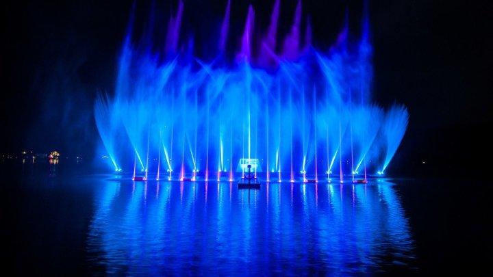 Zell am See Magic Lake Show