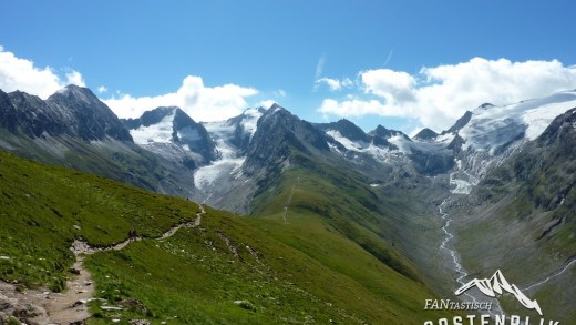 Wandelen vanuit Obergurgl naar Gaisbergferner