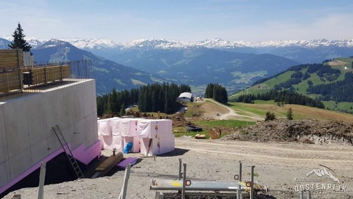 Brixen im Thale bergstation Zinsbergbahn