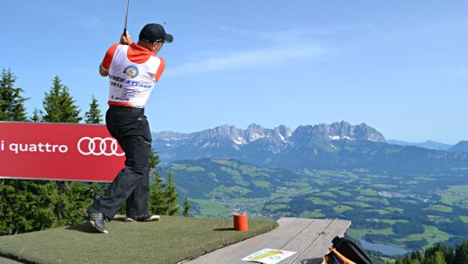 Streif Attack Golf Festival Kitzbühel