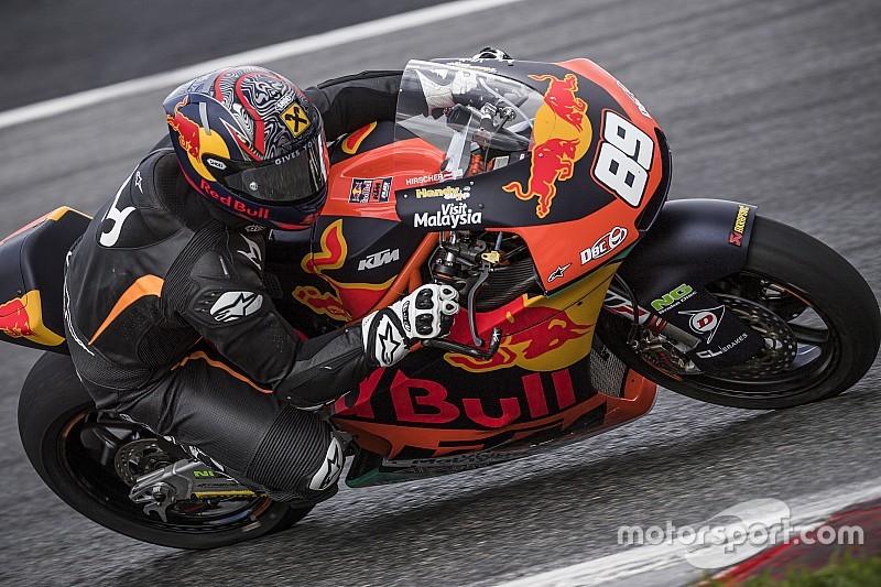 Marcel Hirscher KTM MotoGP