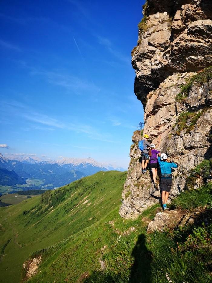 St Johann klimmen Kitzbühelerhorn