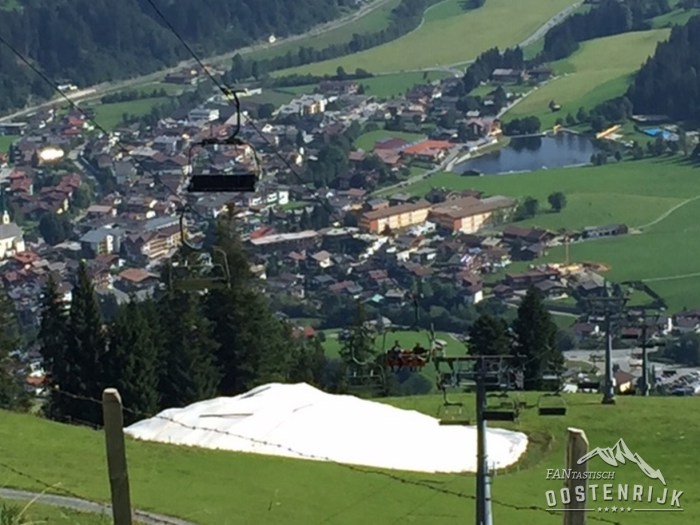 Kirchberg sneeuwdepot Gaisberg