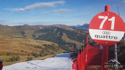 Skiopening Kitzbühel Resterhöhe 19 oktober 2019 VIDEO