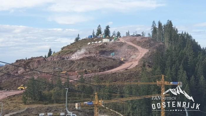 Kleine Salve Bergstation Salvistabahn