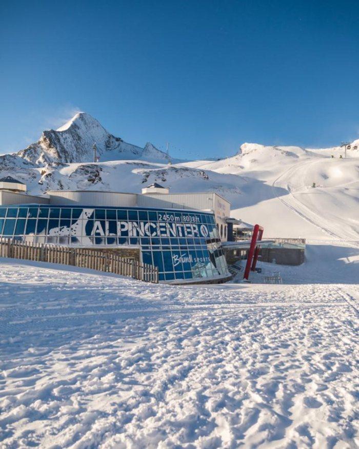 Kitzsteinhorn open 12 okt 2019