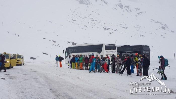 Sölden met de bus Gletscherstrasse
