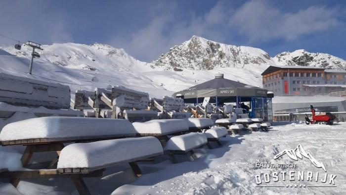 Kitzsteinhorn sneeuwval