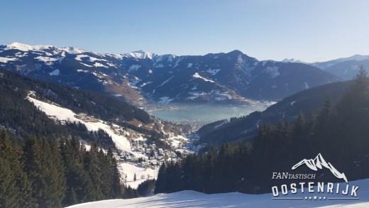 Zell am See uitzicht op het meer