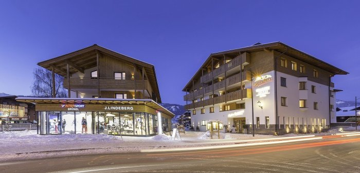 Kaprun - Alpenparks Orgler - aanzicht winter