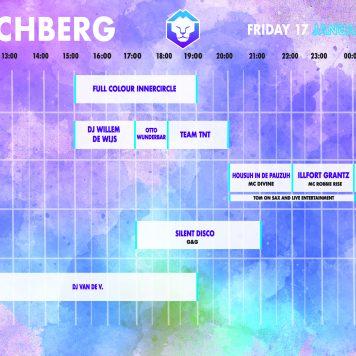 Dutchweek Kirchberg timetable vrijdag