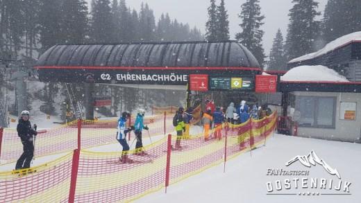 Kitzbühel Kirchberg een rondje 19 februari 2020