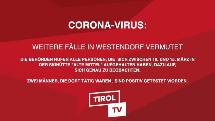 Corona in Westendorf