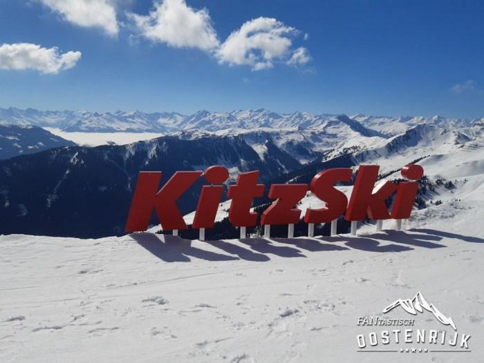 Kirchberg Kitzbühel letters KitzSki