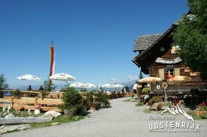 Foto's vanuit FO Sandra Haller Förch Lammersdorferhütte in Karinthië