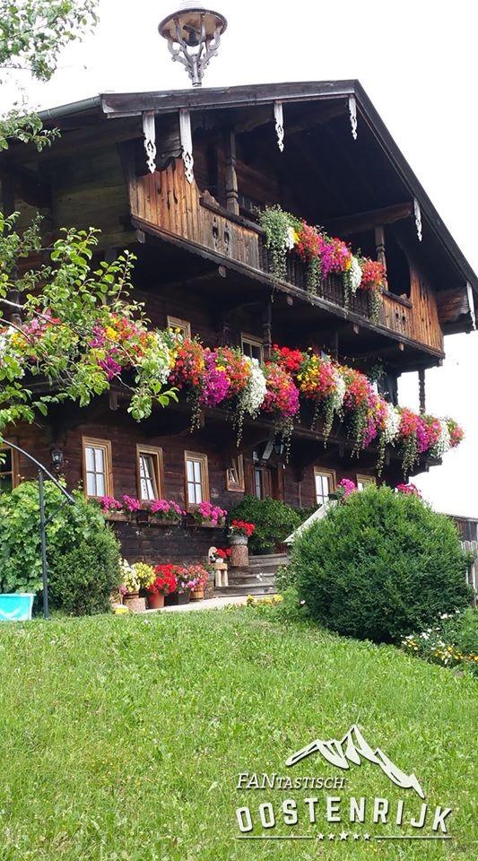 Foto's vanuit FO Wilhelmien van den Heuvel Reith in Alpbachtal