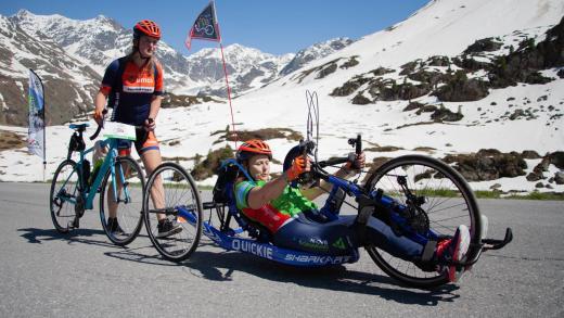 Rolstoel Gita Hollen Roller handbike