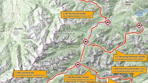 motorverbod Oostenrijk