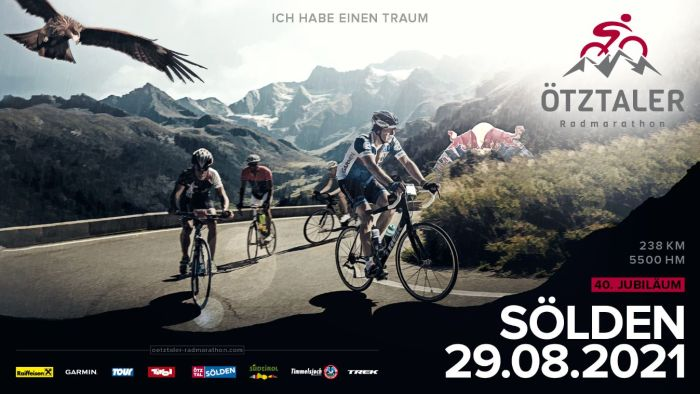 Ötztaler Radmarathon 29 aug 2020