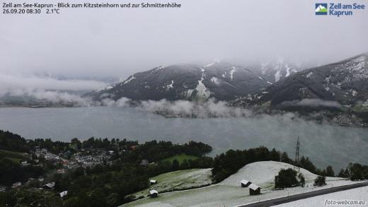 Webcambeelden Oostenrijk 26 september 2020 SNEEUW VIDEO!