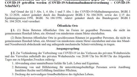 Inhoud aangepaste lockdown Oostenrijk bekend