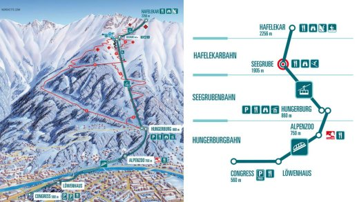 Innsbruck, komt de dalafdaling Nordkette terug?
