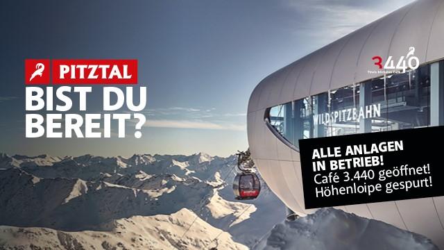 Pitztaler Gletsjer 10 oktober alles open