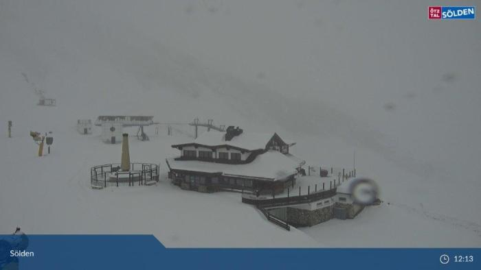 Sölden Seekogel winters 29 okt 2020
