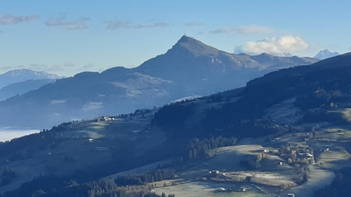Mooi uitzicht heb ja ook vanaf de Ki West op de Kitzbühelerhorn
