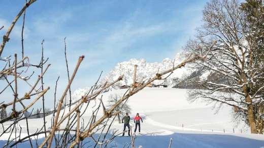 Langlaufen in St Johann in Tirol