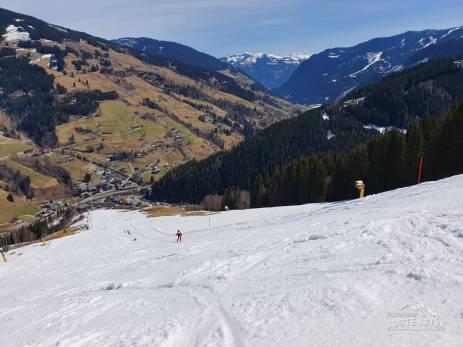 Einde winterseizoen Saalbach 5 april