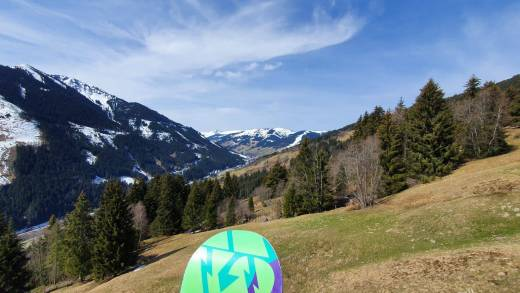 Einde winterseizoen Saalbach 5 april