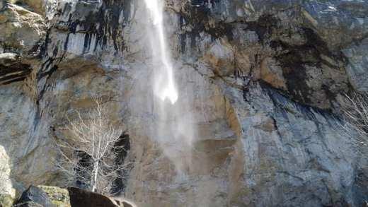 Schleierwasserfall Schleierwaterval Wilderkaiser