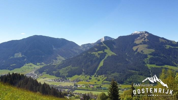 Brixental uitzicht Kandleralm
