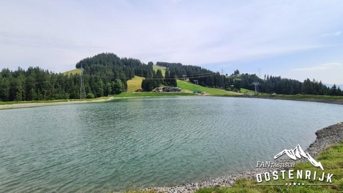 Brixen im Thale Brantlalm See