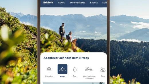 Nieuwe app Zell am See Kaprun