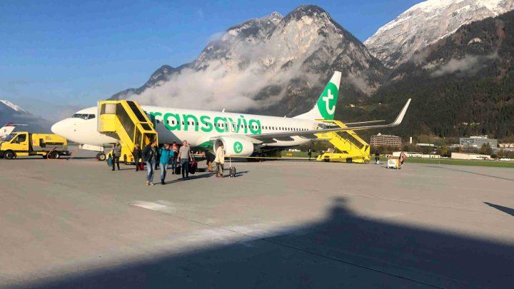 vliegtuig Vliegveld Innsbruck