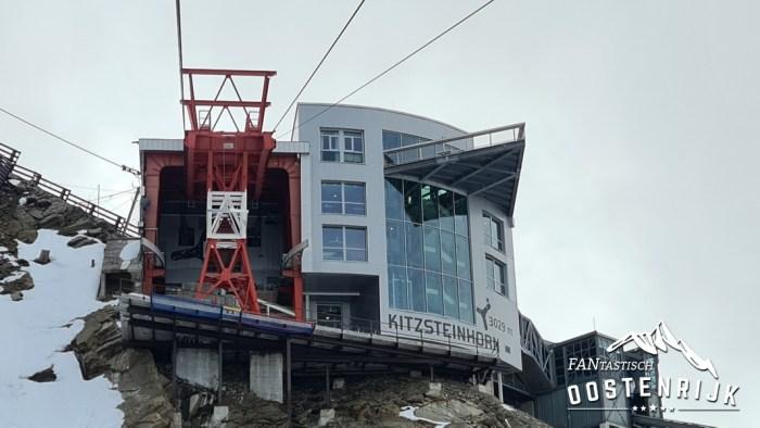 Kaprun Kitzsteinhorn 18 september 2021 bergstation Kitzsteinhorn 3029 meter