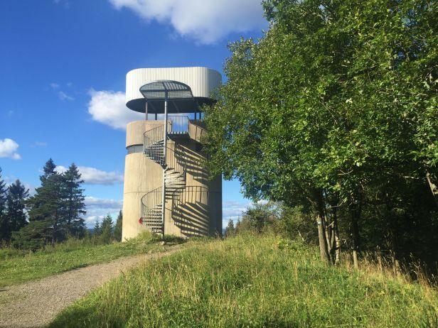 Utsiktstårnet på Røverkollen - Oslomarka - Lillomarka - Fantastiske marka